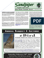 February 2010 Sandpiper Newsletter - Redwood Region Audubon Society