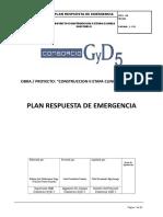 Plan Respuesta de Emergencia 2018