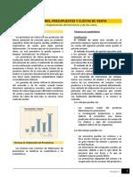 Lectura - Proyecciones, Presupuestos y Cuotas de Venta