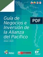 Guia de La Alianza de Pacifico 2018-2019