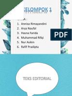 Bahasa Editorial