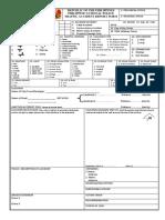Traffic Accident Report (TARAS) Form