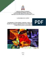 dissertação de mestrado sobre educação quilombola