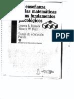 Piaget Desarrollo de Estructuras Cognitivas.