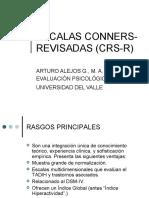 Escalas Conners-revisadas  (CRS-R)