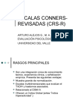 Escalas Conners-revisadas  (CRS-R)