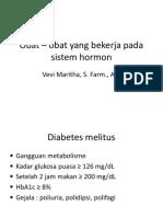 Obat – Obat Yang Bekerja Pada Sistem Hormon