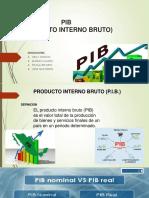 Macroeconomia (Pib) Producto Interno Bruto