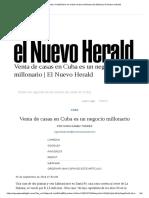 El Sector Inmobiliario en Cuba Mueve Millones de Dólares _ El Nuevo Herald