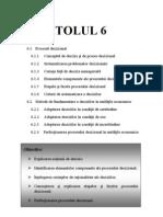 6.Abordari Teoretice Ale Procesului Decizional