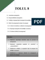 8.Factorul Uman in Procesul de Management