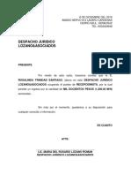 Carta Laboral Mrlr