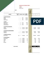 Modelo Costos PIP Recoleccion