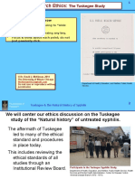 7. Research Ethics 1, The Tuskegee Study