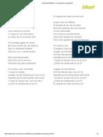 FALTA de RESPETO - Carla Morrison (Impresión)