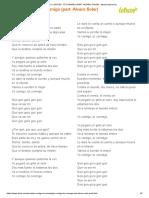 Yo Contigo, Tú Conmigo (Part. Alvaro Soler) - Morat (Impresión)