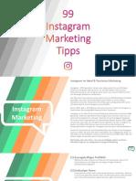 99 Instagram Marketing Tipps