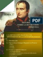 Tema 37, Diapositivas (Debate Historiogrµfico)