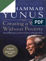 Muhammad Yunus - Creating A World Without Poverty.pdf