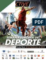Programacion Semana Europea Del Deporte Ciudad Real