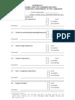 Appendix a Supervisor Quarterly Form