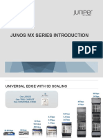 Junos Mx Series Introduction