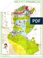 Carte Sismologique - Tunisie