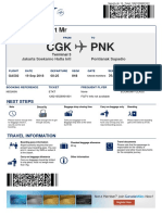 Boarding Pass Garuda Indonesia 2