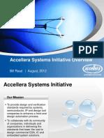 Accellera Systems Initiative CEDA Aug-2012