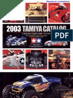 Tamiya Catalogus 2003