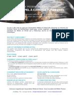 Prix PERRIN 2020 Appel à Candidatures