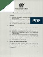 [Document] Réforme électorale