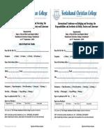 Registration Form Msl 3