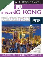 Hong Kong DK Eyewitness Top 10 Travel Guides Dorling Kindersley 2011