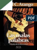 ARANGO  Las malas palabras.pdf