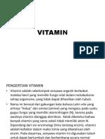 Power Point Materi Vitamin