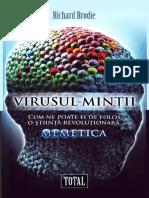 Brodie Richard Virusul Mintii Memetica
