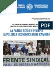 Frente Sindical para el Modelo Nacional