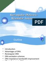 Development of Dielectric Resonator Antenna