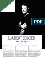 Intro Portrait Laurent Berger Hexagone n°8 - Eté 2018
