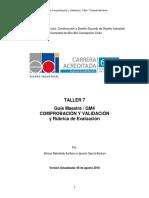 Guía Maestra Nº4 15% TALLER 7