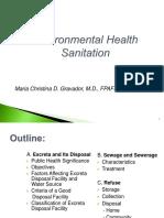 Manual Excreta Sewage Disposal Lect