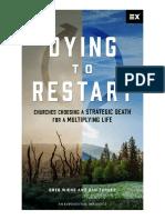 Dying to restart