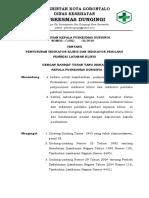 Sk Penyusunan Indikator Klinis Dan Indikator Perilaku Pemberi Layanan Klinis