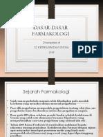 P1 Dasar Farmakologi