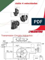 Transmision MT732-1030 Manitou