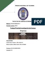 Linaje Argentino Trabajo Invest