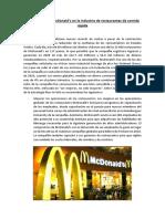 La Estrategia de McDonald-PPCO