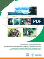 Conservacion Vegeta