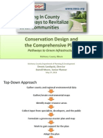 Conservation Design and the Comprehensive Plan
